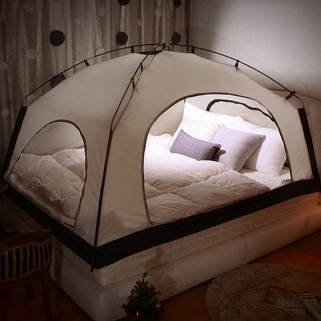 iKamper Room in Room Indoor Tent - Room in Room is specially designed bed tent for warmer winter and lower heating bill. The special design of Room in Room conserves and circulates heat inside while blocking the cold air outside. | home space idea