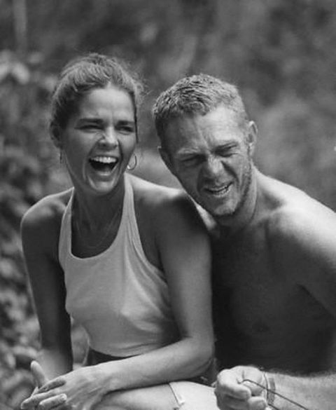 Steve McQueen/ Ally McGraw. Two of my favorites!