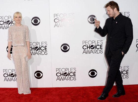 Anna Faris, Chris Pratt, People's Choice Awards yes both of them