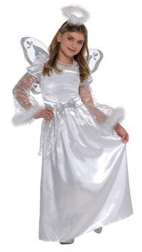 Kar Meleği Kostümü, 4-6 Yaş
