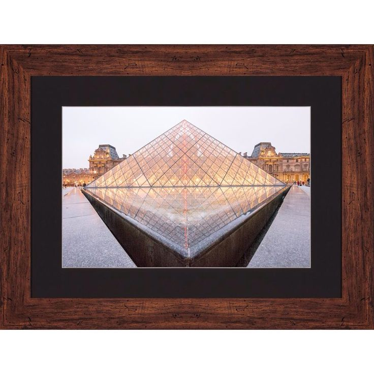 'The Louvre' by Birol Giray For different varieties go to www.minart.co #minart #minartco #minartistanbul #instagram #photography #frame #prints #wallart #walldesign #gallerywall #art #design