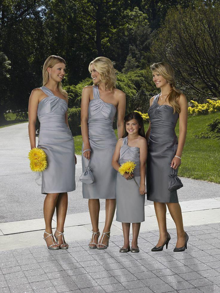 robes grises! jusqu'à la bouquetière!!!