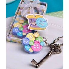 Little Buttons Collection Key Chain Favour