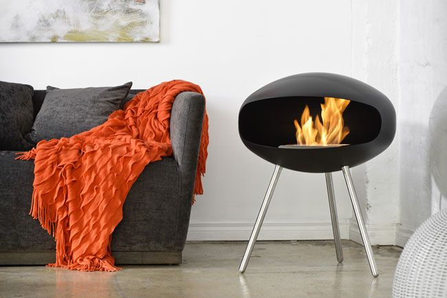 Cocoon Terra Fireplace Love this.  They one that hangs too.