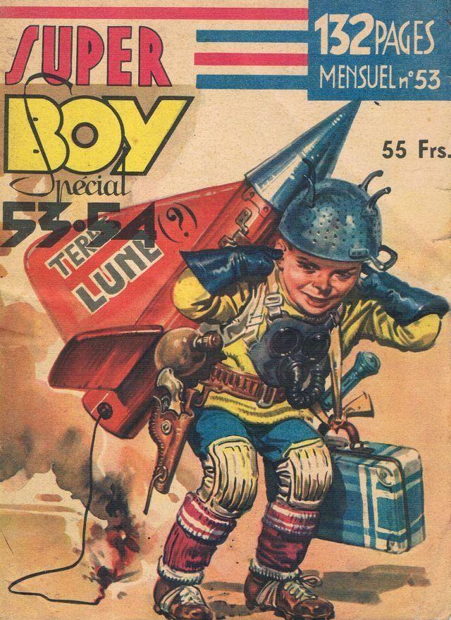 Super Boy, décembre 1953, France