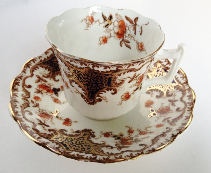 Cup and saucer by Wellington China. £12.00, via Etsy.
