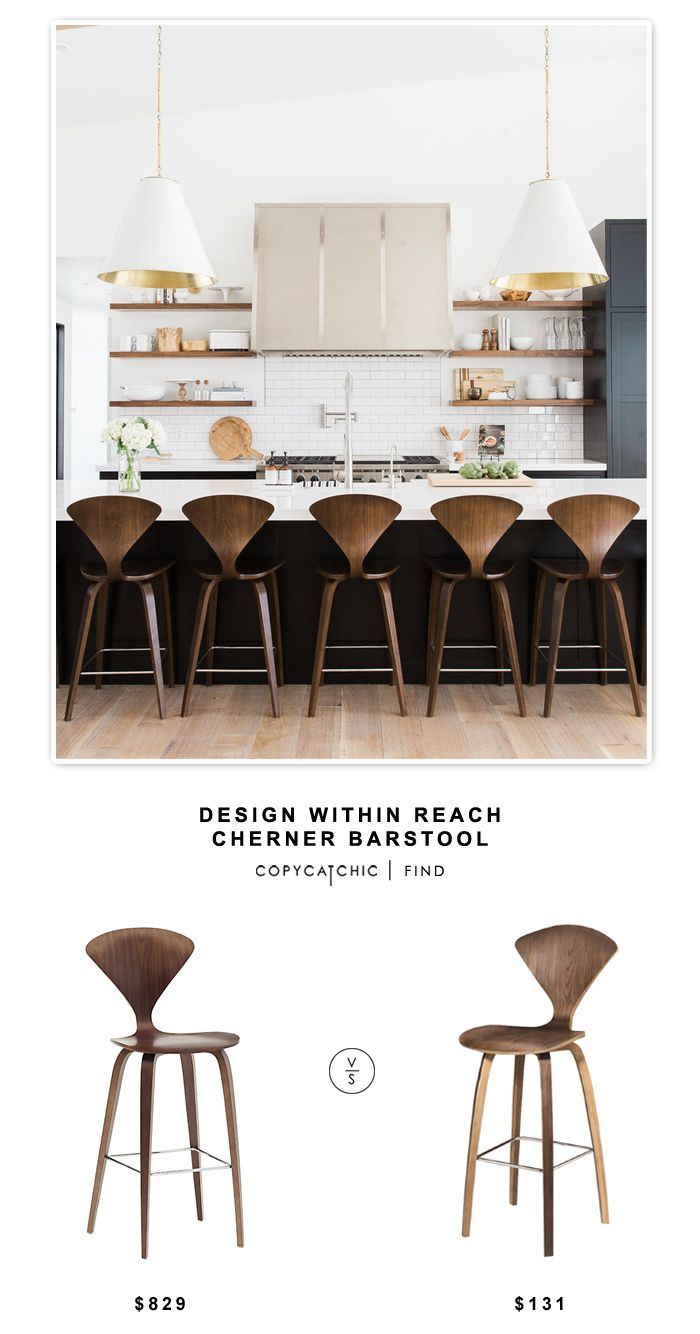 Design Within Reach Cherner Barstool  ~ Great pin! For Oahu architectural design visit http://ownerbuiltdesign.com