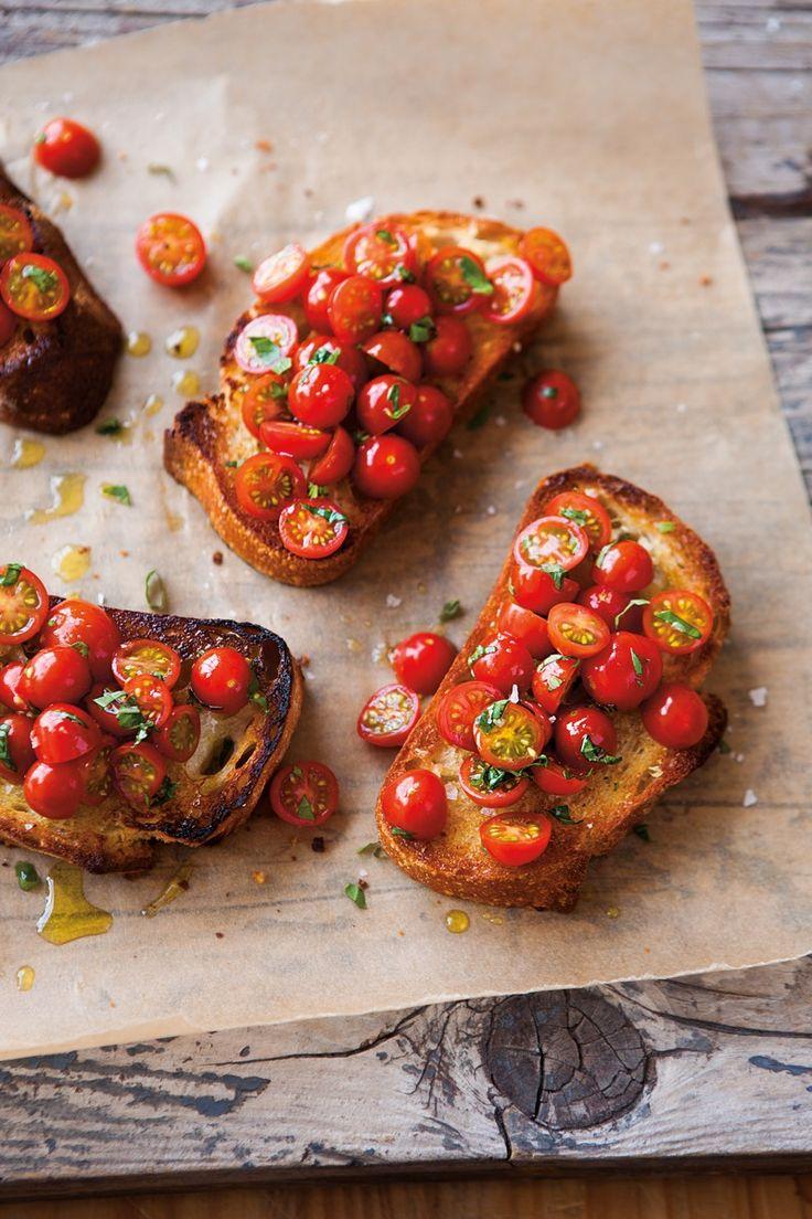 tomato bruschetta. | healthy recipe ideas @xhealthyrecipex |