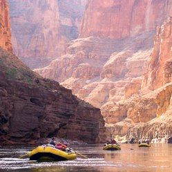 White Water Rafting down the Grand Canyon and Class V