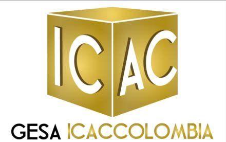 Imagen corporativa diseñada por Com in-Genio para la empresa que salió del proyecto semilla: GESA ICAC COLOMBIA.