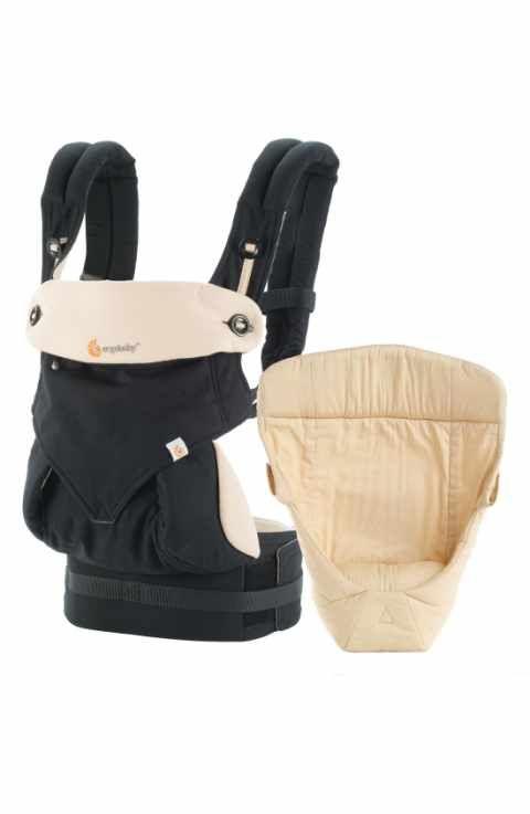 eab8bc7e11e ERGObaby  Four Position 360 - Bundle of Joy  Baby Carrier   Infant Insert   babywearing