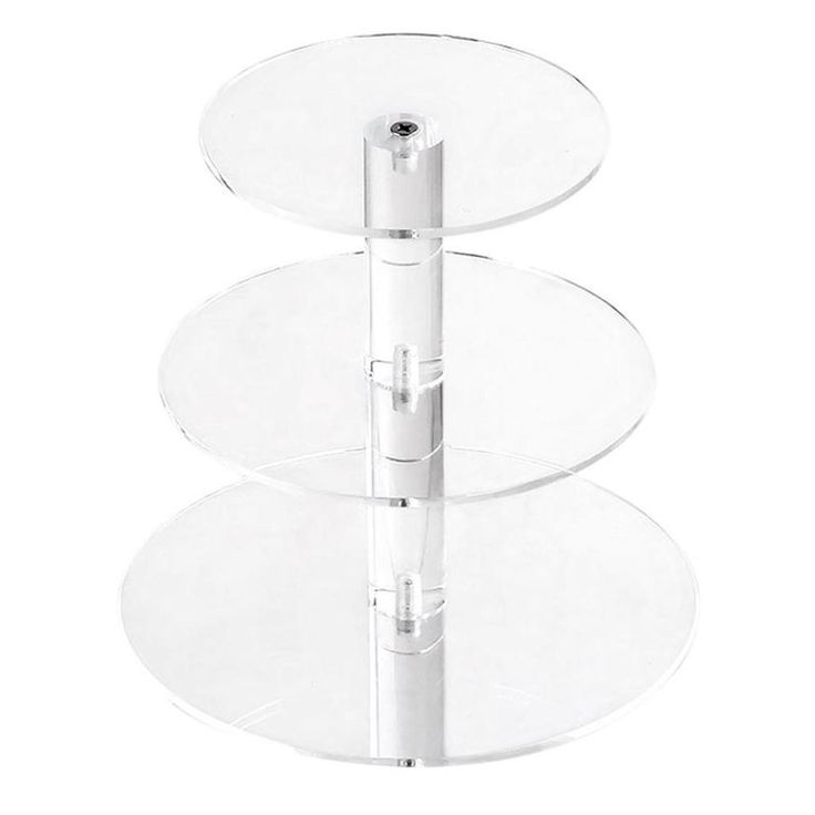 Adjustable 3 Tier Clear Acrylic Cupcake Cake Stand | Buy New Arrivals