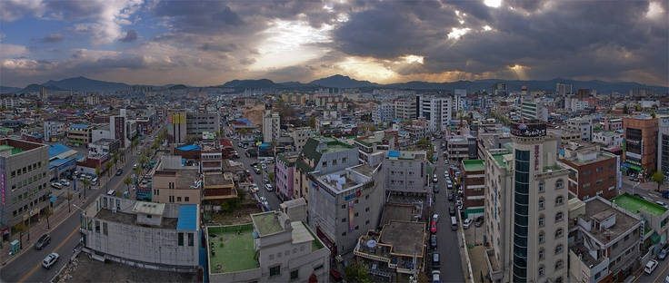 Chuncheon, South Korea, my old hometown