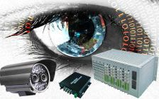 CCTV and Surveillance System by Fiber Optic Solution ( EPON & Audio Video Fiber Optic Media Converter)