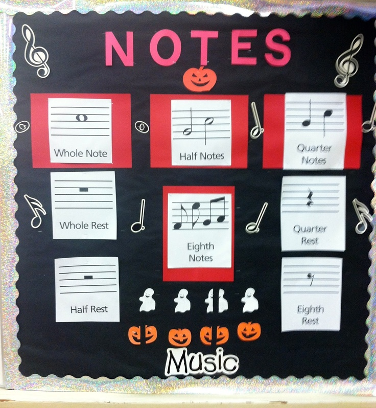 Music Ed Bulletin Boards