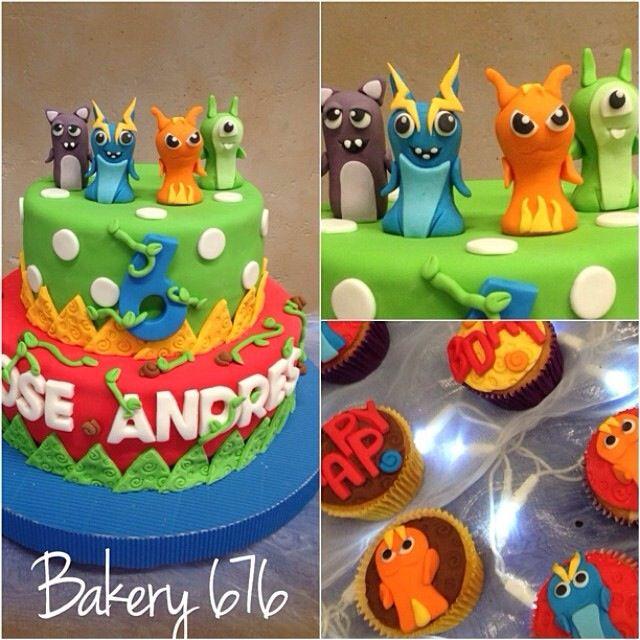Pastel bajo Terra / slugterra cake Bakery 676