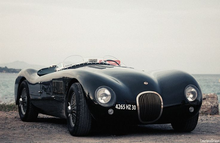 Jaguar C-Type (1951). Only 52 were ever made. Designed by Malcolm Sayer, who also designed the D-Type and E-Type — two other classic, iconic Jaguar race cars.