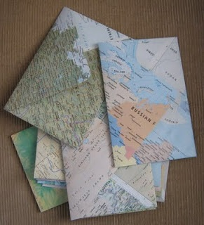 recycle old book by making envelopes