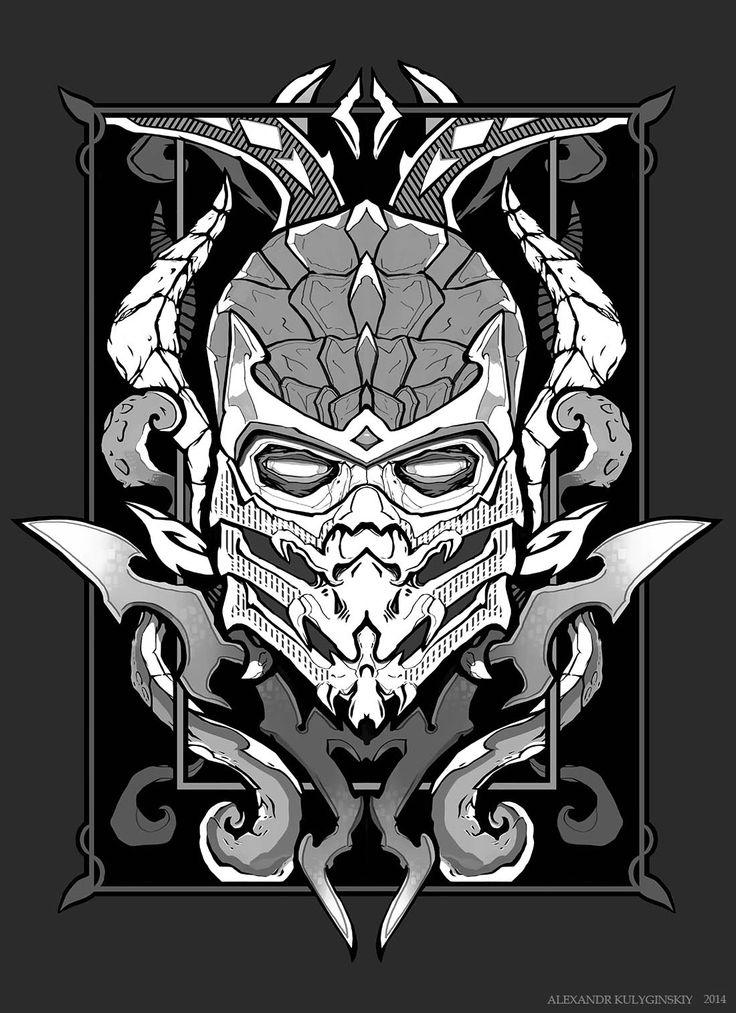 Scorpion MK (tattoostyle ) Mortal kombat art, Avengers