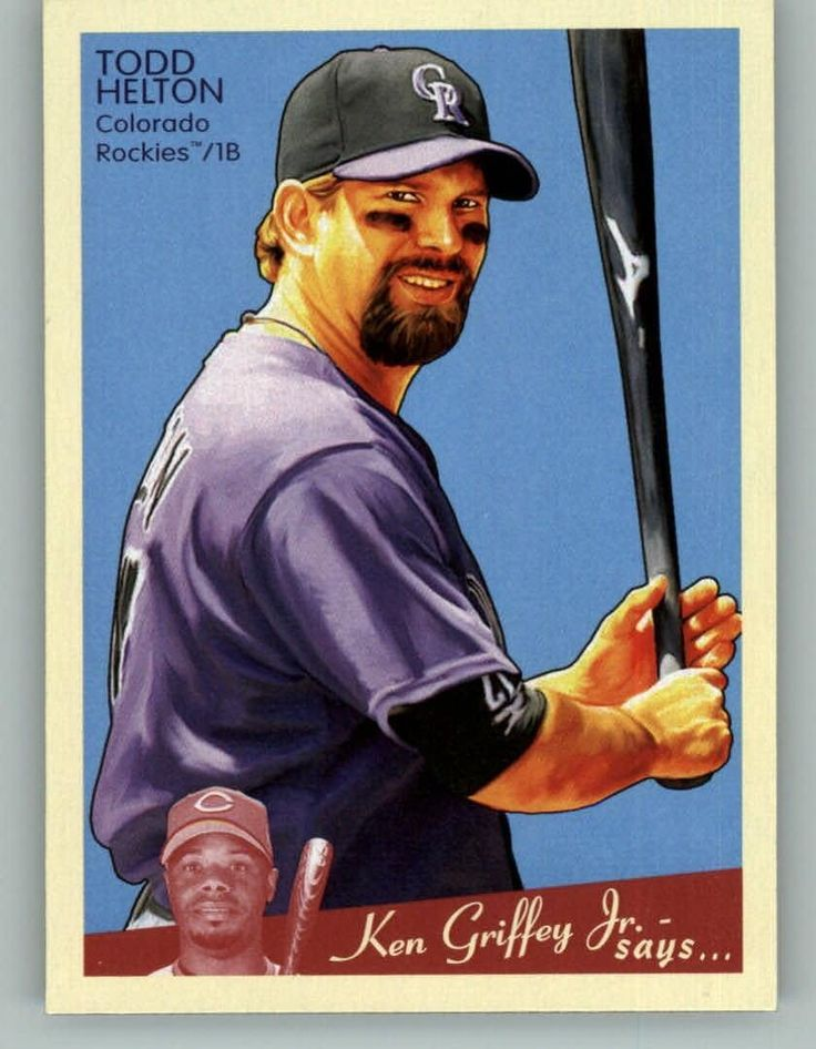 2008 Upper Deck Goudey 63 Todd Helton - Colorado Rockies (Baseball Cards) -- This is an Amazon Affiliate link. More info could be found at the image url.