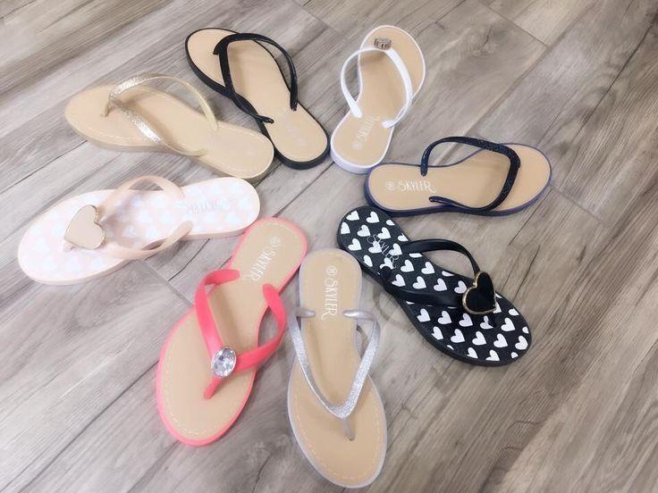 Summer-wear!  #flip-flops #summer #shoes #fashion #trendy #fashionista #wonderful #women
