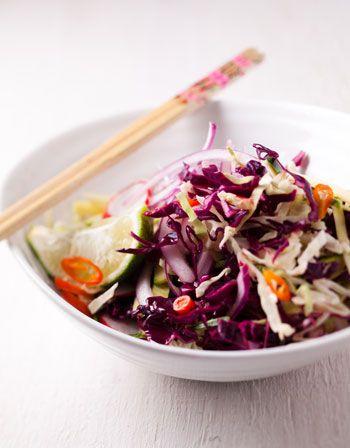 Asian coleslaw http://www.eatout.co.za/recipe/asian-coleslaw/