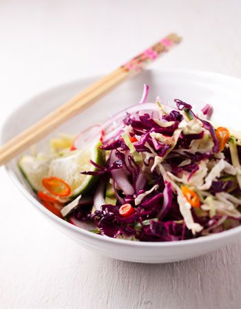 Asian coleslaw http://www.eatout.co.za/recipe/asian-coleslaw/