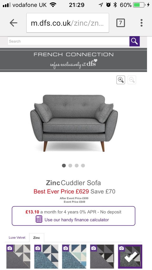 Pin by Jaclyn Yeomans on House Stuff | Cuddler sofa, Handy ...