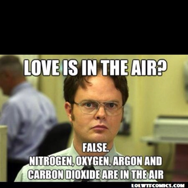 how dwight schrute says  u0026quot happy valentines day  u0026quot