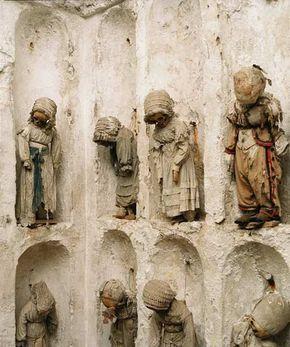 The catacombs of Palermo. Les catacombes de palerme #sicile