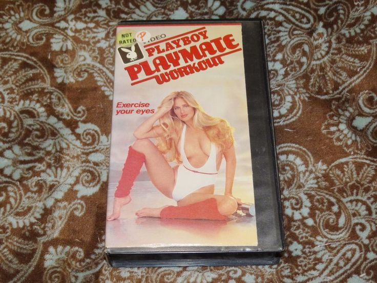 Playboy Playmate Workout (VHS, 1984) Rare OOP HTF 1st CBS-FOX T&A! *NOT ON DVD*
