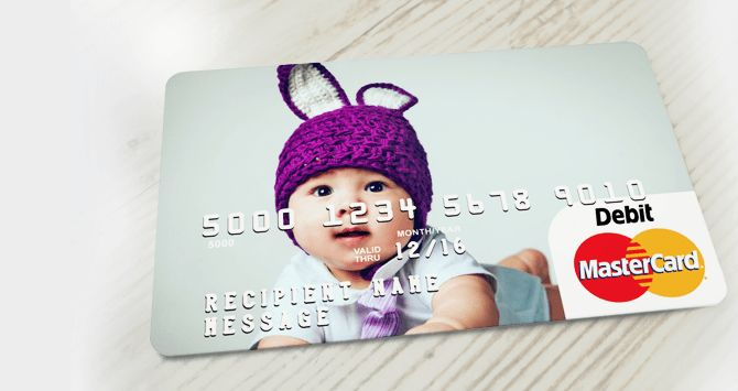 Client gift idea - personalize gift cards