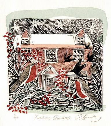 """Bircham Christmas"" by Angela Harding"