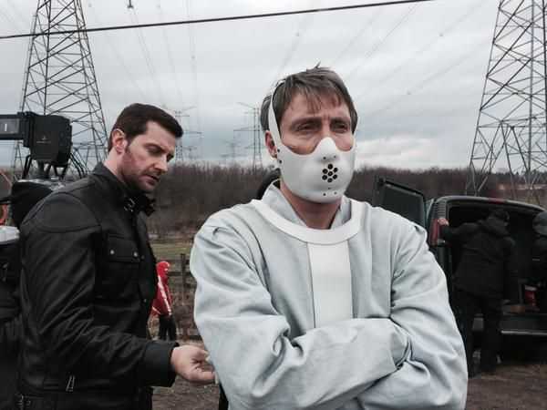 Hannibal episode 313 behind the scenes pictures tweeted by Bryan Fuller and Loretta Ramos