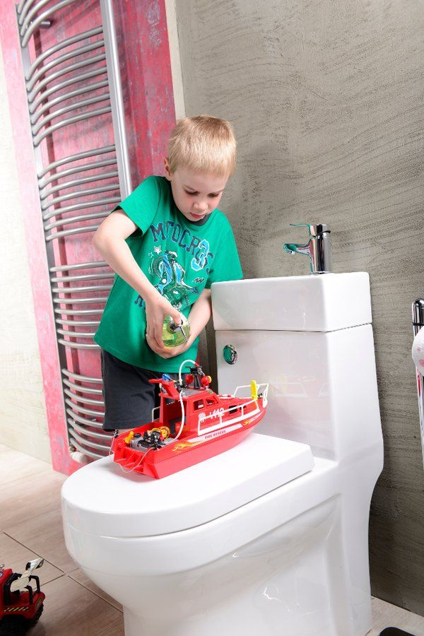 GAVI WC kombi mísa snádržkou včetně PP sedátka, zadní odpad, SAPHO E-shop