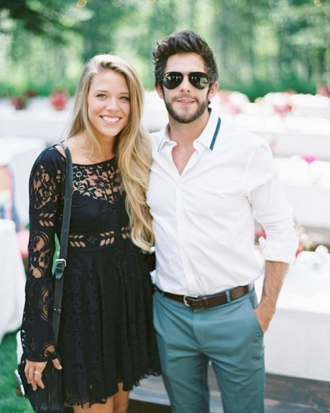 Thomas Rhett and his wife are beautiful