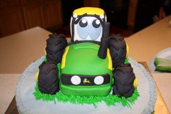 Tractor Birthday Cake Decorating Ideas