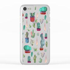 cactus!!! Clear iPhone Case