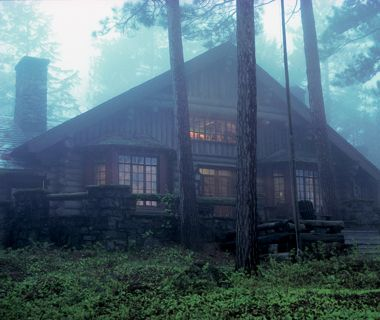 17 best images about adirondack cabins lodges on for Giant city lodge cabins