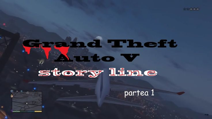 GTA 5 - story line part 1, playthrough (RO commentary)