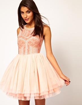 Enlarge ASOS Prom Dress with Embellished Bodice