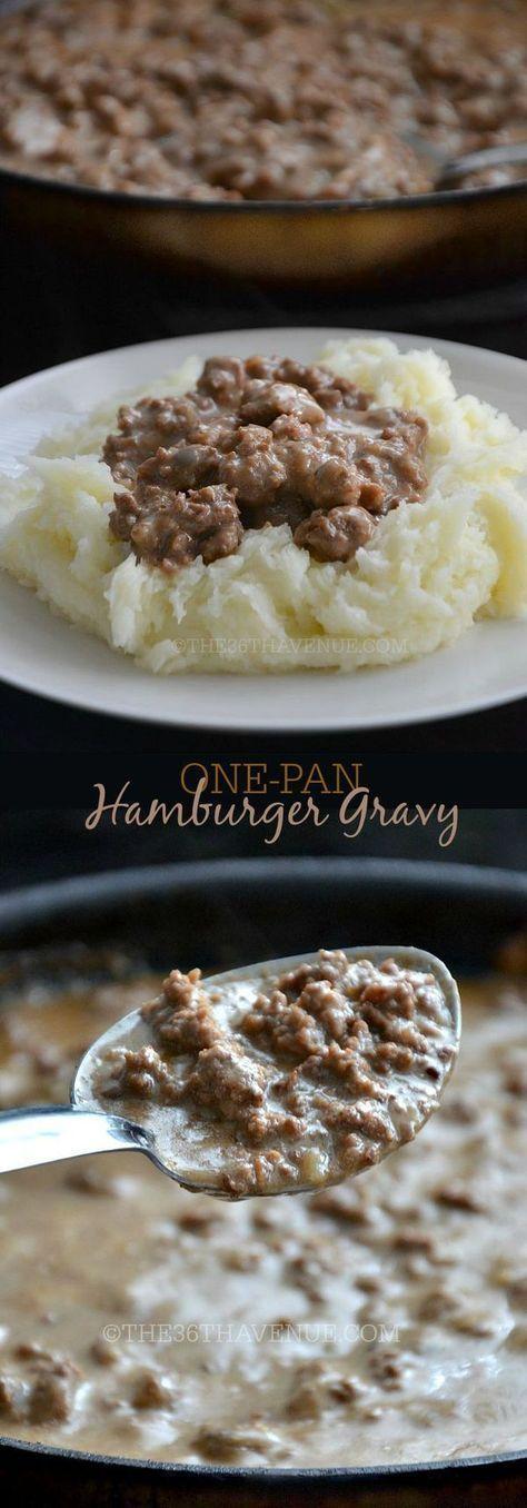 Hamburger and potato recipes easy