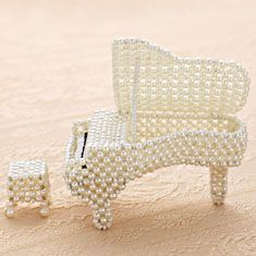 Beaded Grand Piano 3D PATTERN