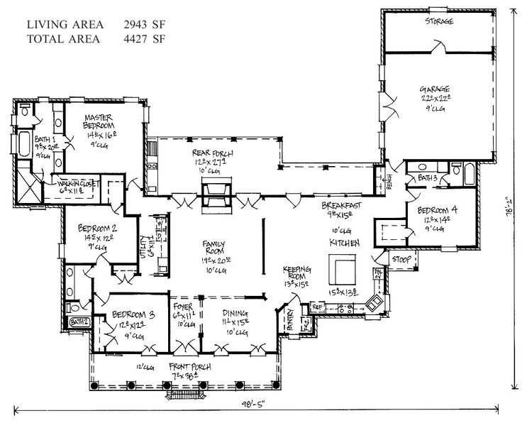 118 Best House Plans Images On Pinterest Architecture