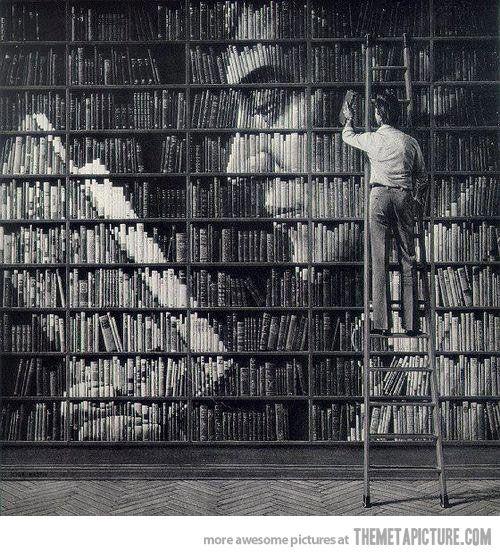 Reading Books Within Books, themetapicture #Illustration #Books
