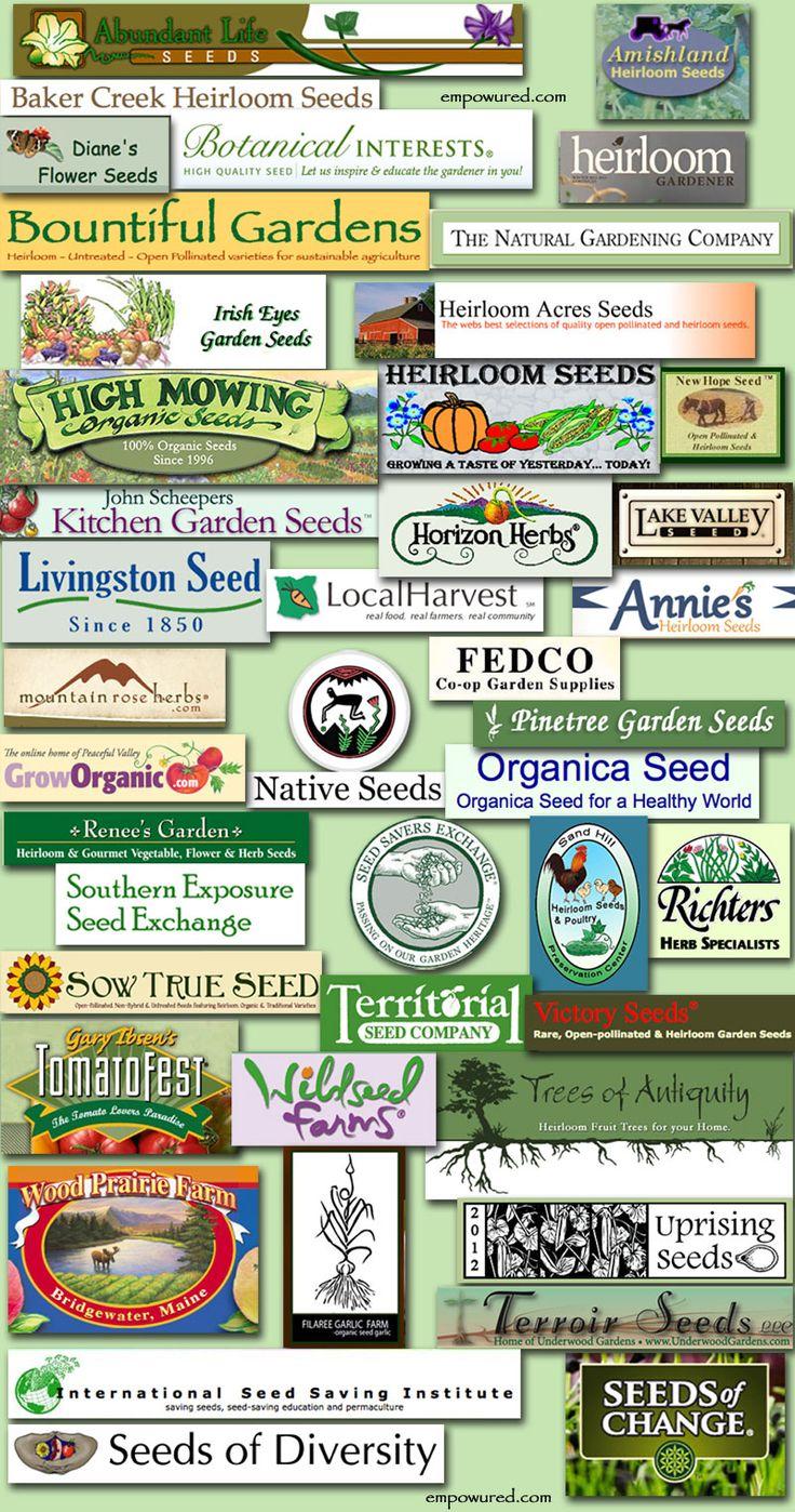 Non- GMO seed companies