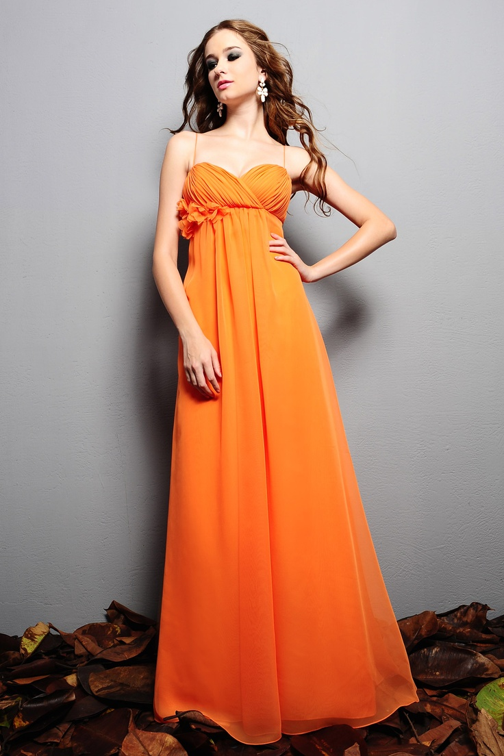94 best orange bridesmaid dresses images on pinterest orange orange bridesmaid dresslove this color orange dress 2dayslook ombrellifo Gallery