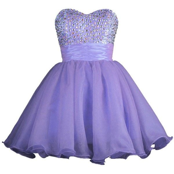 RohmBridal Women's Short Homecoming Prom Party Cocktail Dress ($59) ❤ liked on Polyvore featuring dresses, short purple dresses, purple prom dresses, prom homecoming dresses, night out dresses and cocktail prom dress