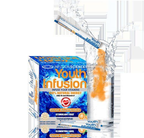 Youth Infusion - Infuse Your Vitamins - 30 Packets every day at these amazing prices! Say Goodbye to Hangovers, For Good! ItÍs important to lead a healthy life by keeping a balanced diet and exercising regularly. However, staying fit and healthy doesnÍt stop with just these two things _ a little boost from a vitamin-enriched helper can go a long way. This is why we have formulated all-natural energy drinks to cater to your bodyÍs nutritional needs. Throughout the day, Youth Infusion will…