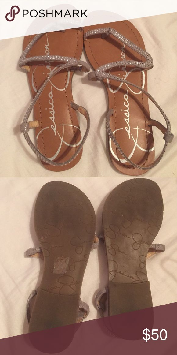 JESSICA SIMPSON SANDALS basically brand new. worn a few times. comfortable. Jessica Simpson Shoes Sandals